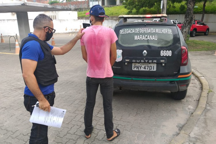 No total, 159 policiais civis, em 22 viaturas, participaram da ofensiva no Ceará. (Foto: Divulgação/SSPDS)