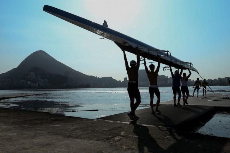Provas Eliminatórias do antepenúltimo dias da competição Barcos Longos 2019 no Lagoon, na Lagoa Rodrigo de Freitas, organizado pela CBR. (Foto: Dikran Junior)