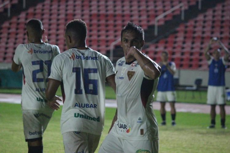 Robson foi o único reforço a marcar pelo Fortaleza (Foto: Leonardo Moreira/FortalezaEC)