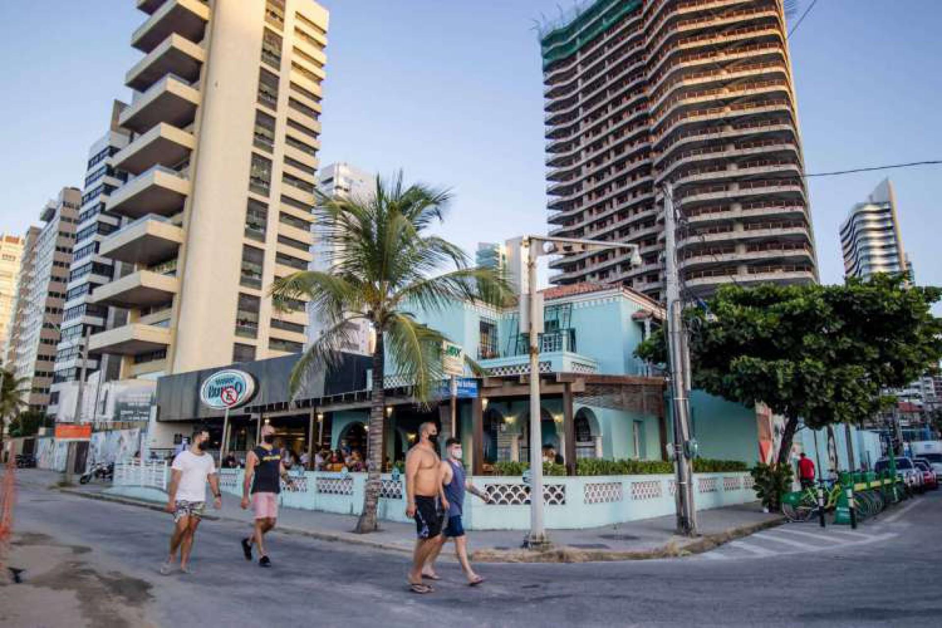 (Foto: AURÉLIO ALVES)Fachada do Boteco Praia, antiga casa da avó paterna do senador Tasso Jereissati