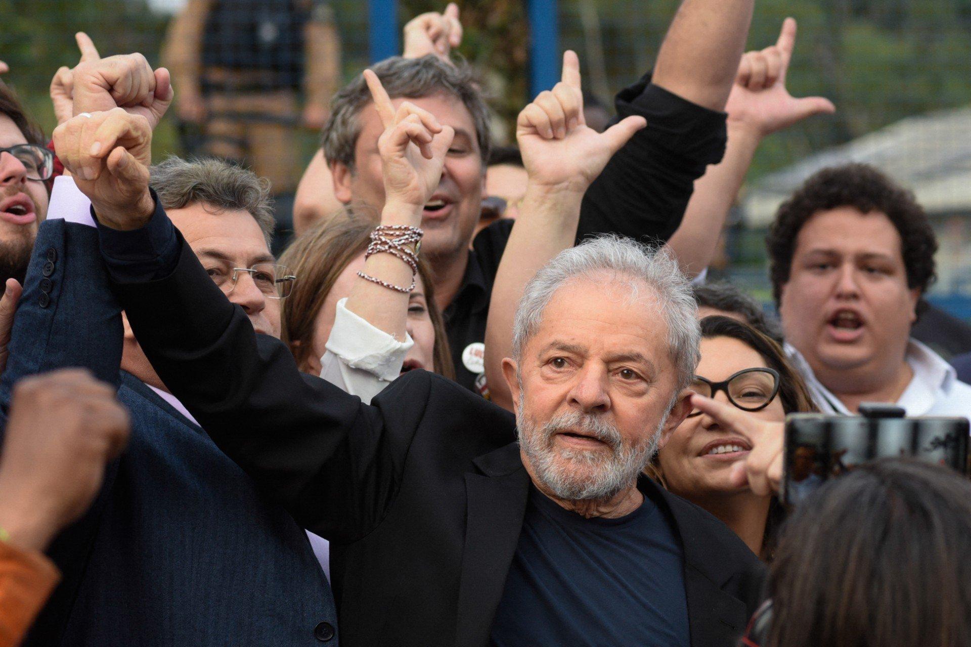 Lula retomou seus direitos políticos após decisão do ministro do STF Edson Fachin