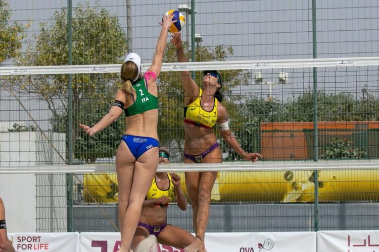 Vôlei de praia: duplas brasileiras avançam no Circuito Mundial (Foto: )