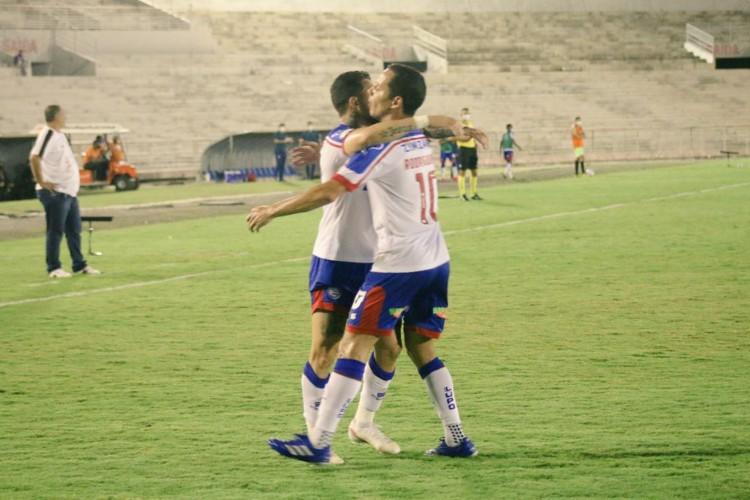 O Bahia venceu o Campinense na estreia da Copa do Brasil por 7 a 1 (Foto: Divulgação / Bahia)