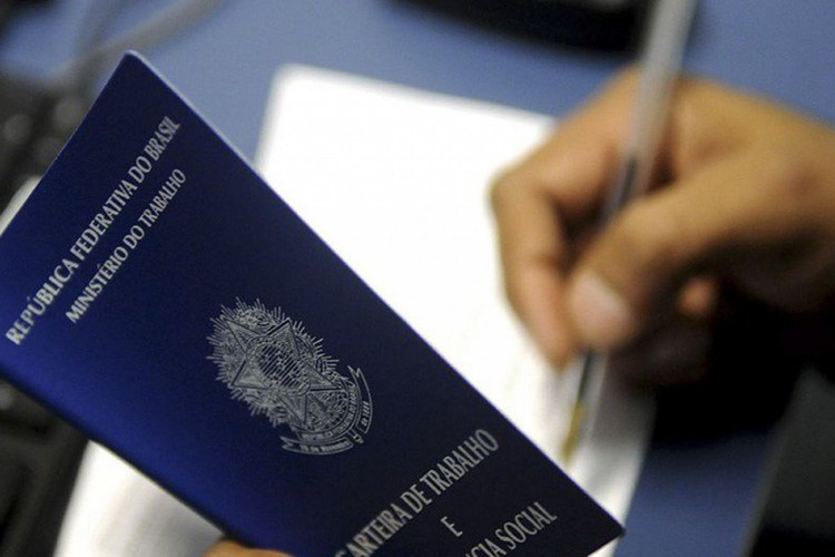 carteira de trabalho (Foto: Agência Brasília)