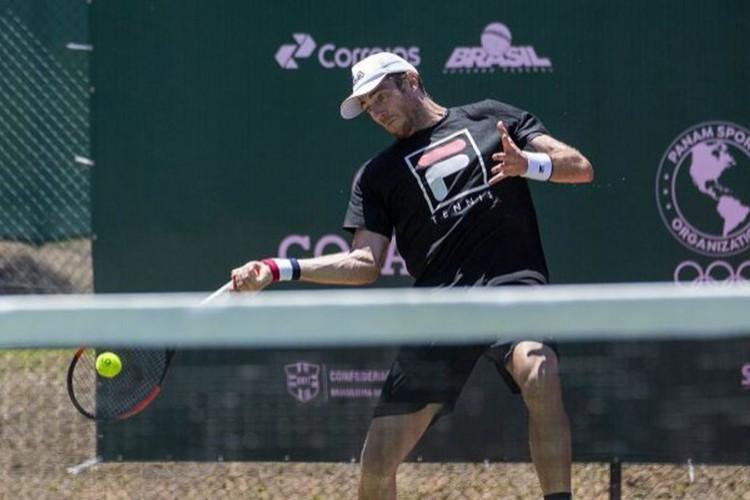 Dupla do brasileiro Demoliner vai às quartas no ATP 250 de Santiago (Foto: )