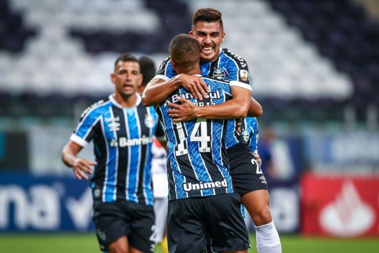 Grêmio decide na primeira etapa e goleia Ayacucho na pré-Libertadores (Foto: )