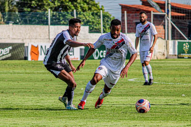 Ferroviário deu fim a um tabu de 11 anos sem vencer o Ceará no Campeonato Cearense (Foto: Lenilson Santos/Ferroviário AC)