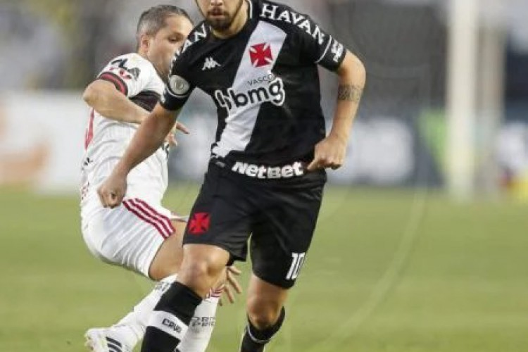Martín Benítez, um dos destaques do Vasco, é o alvo do São Paulo para reforçar o meio campo (Foto: Rafael Ribeiro / Vasco)