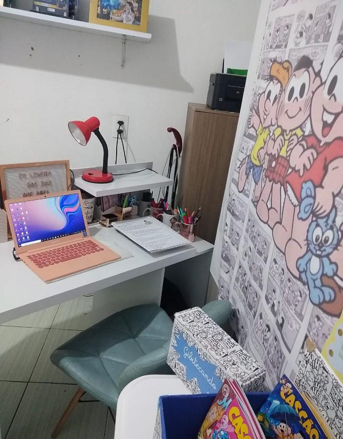 Espaço de trabalho da professora Alane Santos