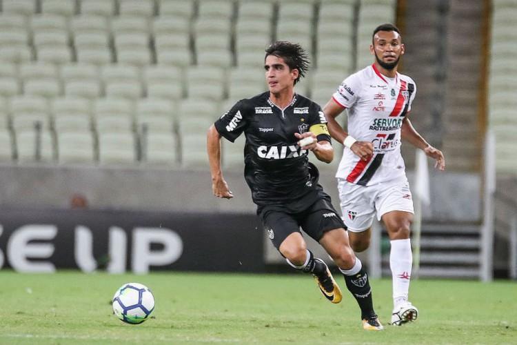 Gustavo Blanco chegará na capital cearense nesta quinta-feira, 11, para se apresentar ao Fortaleza (Foto: Bruno Cantini /Atlético-MG)