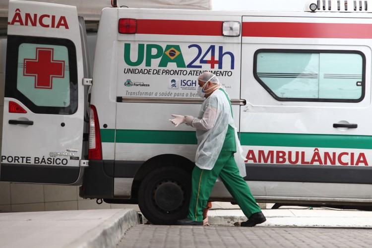 Nos leitos de enfermaria, o Estado também está com a menor taxa de ocupação em meses. Atualmente, são 1.570 leitos ativos, dos quais 40,4% estão ocupados (Foto: FABIO LIMA)