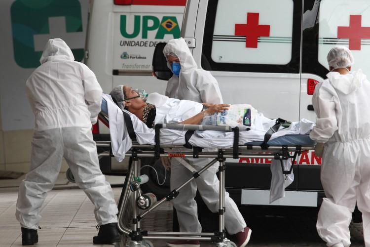 Seis hospitais registram lotação em UTIs (Foto: FÁBIO LIMA)