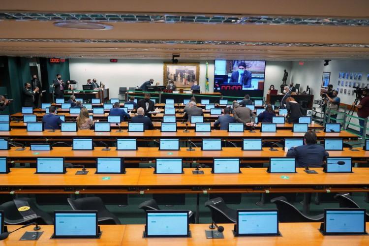 23/02/2021 - COETICA -23/02/2021 - COETICA - Conselho de Ética e Decoro Parlamentar (Foto: Pablo Valadares/Câmara dos Deputados)