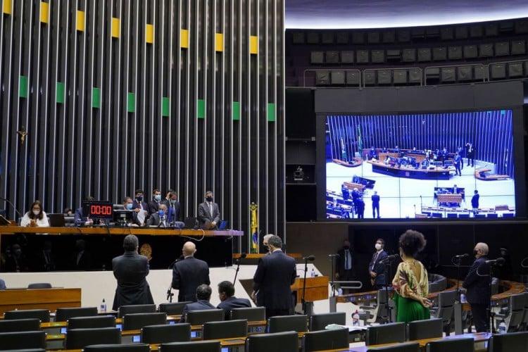 Câmara começa sessão para votar PEC Emergencial em segundo turno (Foto: pablo valadares)