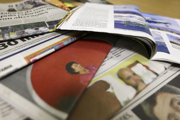 Jornais e revistas (Foto: Marcelo Camargo/Agência Brasil)