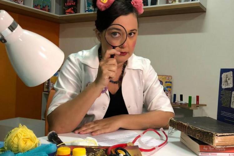Paula Yemanjá promove contação de histórias nesta sexta, 12, no canal do Youtube do Dragão do Mar (Foto: Luciana Mesquita)