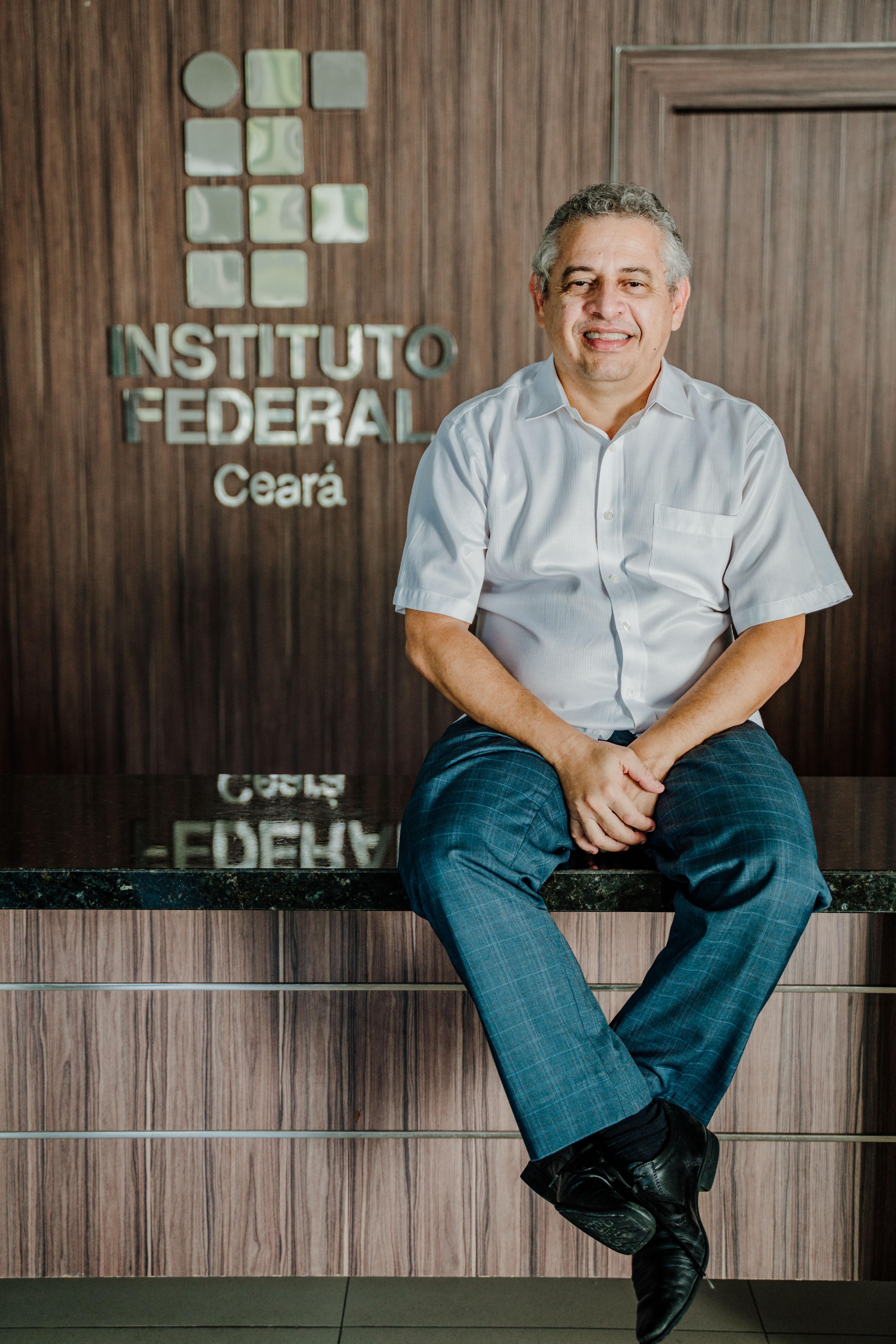Wally Menezes é o reitor do IFCE (Foto:Júlio Caesar / O Povo)