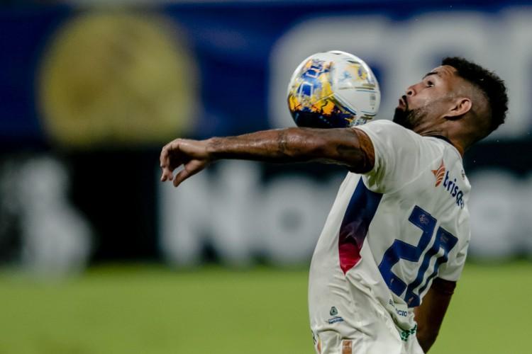Atacante Romarinho, do Fortaleza, negocia transferência para o futebol japonês (Foto: Aurelio Alves)