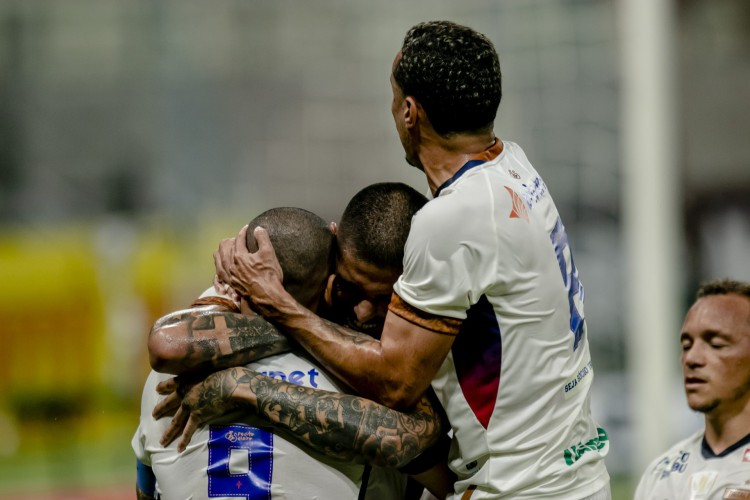 Fortaleza empatou em 1 a 1 com o Treze-PB, mantendo o clube com a invencibilidade e a melhor campanha da Copa do Nordeste (Foto: Aurelio Alves/O POVO)