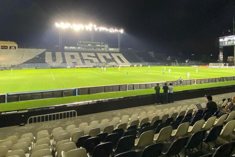 A partida Ferroviário x Porto Velho será no estádio São Januário, no Rio de Janeiro (Foto: Divulgação)