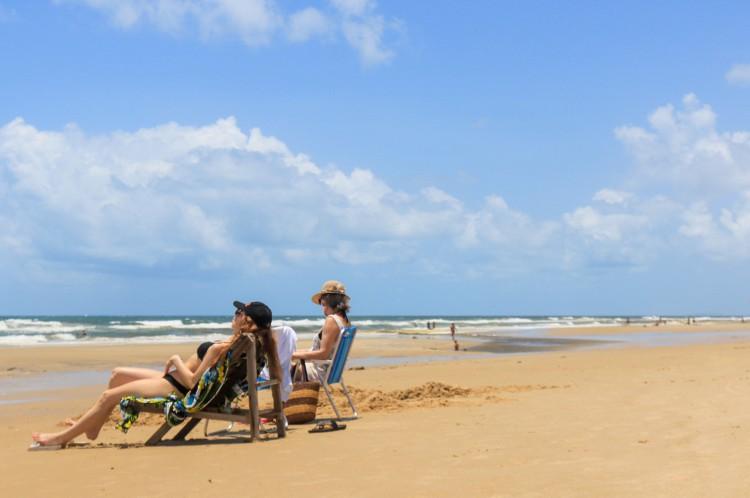 Um dos atrativos do Ceará são as praias