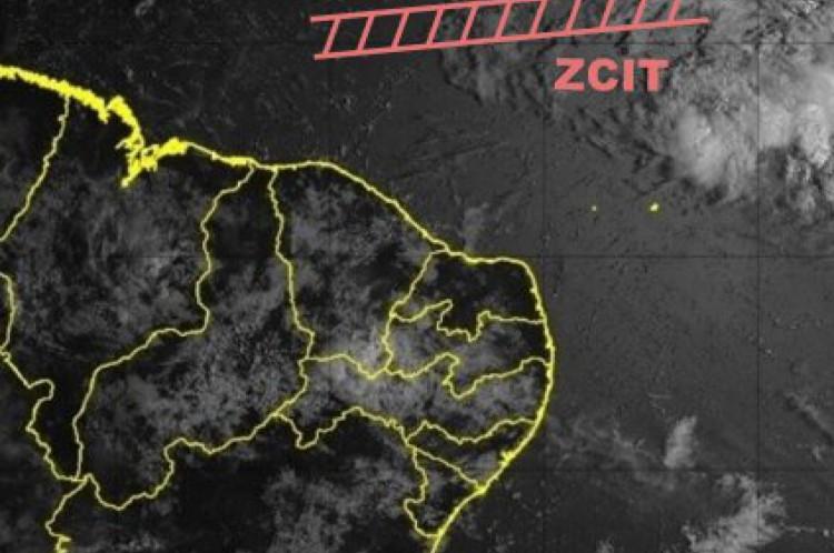 Imagem de satélite GOES-16