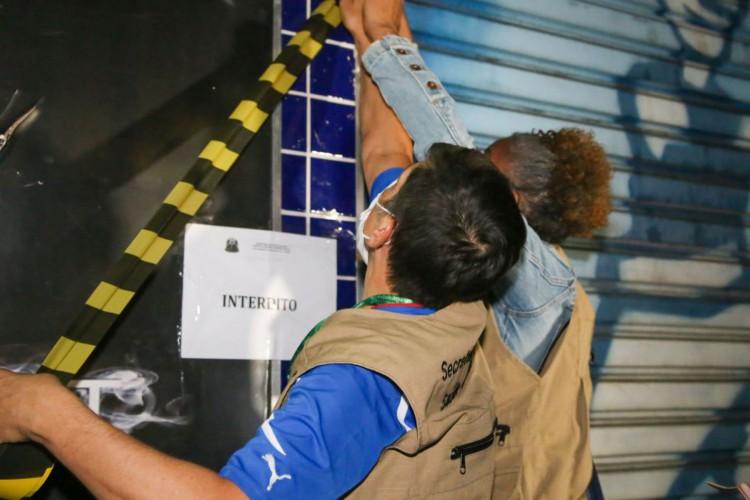 SP autua 197 estabelecimentos por descumprimento do toque de restrição (Foto: )