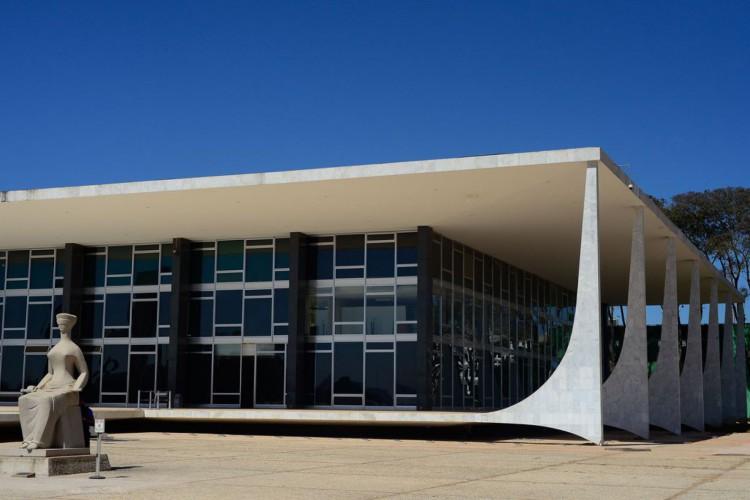 Fachada do edifício sede do Supremo Tribunal Federal - STF (Foto: Marcello Casal JrAgência Brasil)