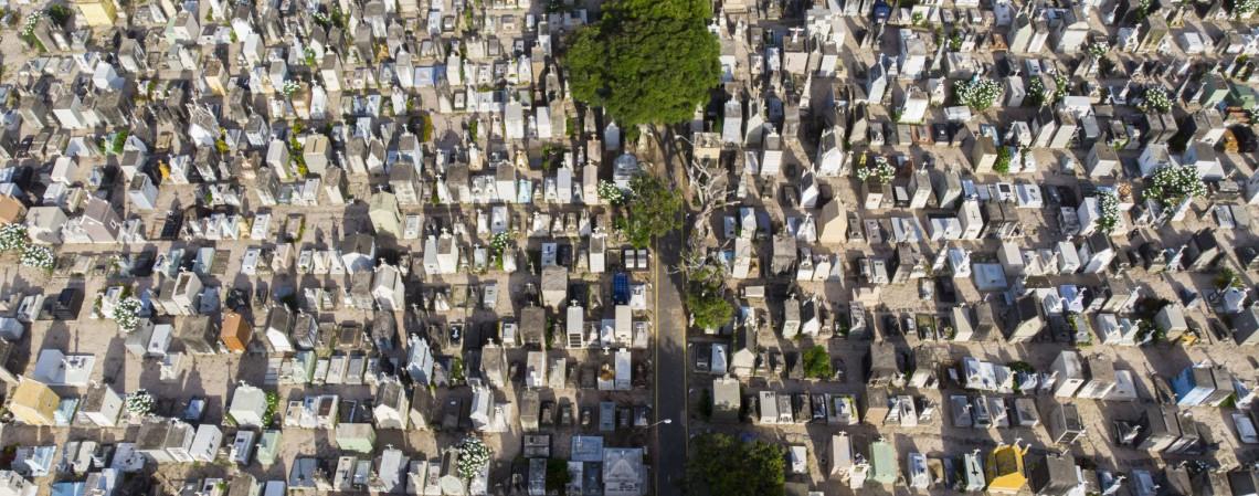 Cemitério São João Batista, em Fortaleza (Foto: FCO FONTENELE)