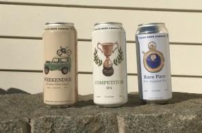 Weekender, Competitor e Race Pace, cervejas da Zelus Beer pensadas para brindar o fim de provas esportivas