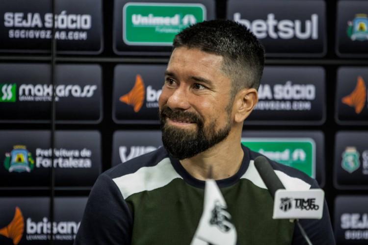 Ricardinho teve despedida no Ceará. Ele irá defender o Botafogo-RJ em 2021 (Foto: Felipe Santos/Ceará SC)