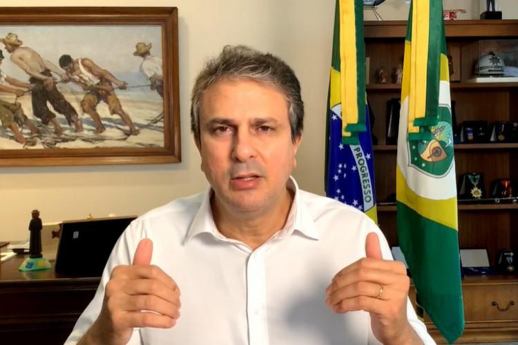 Governador Camilo Santana (PT) (Foto: REPRODUÇÃO)