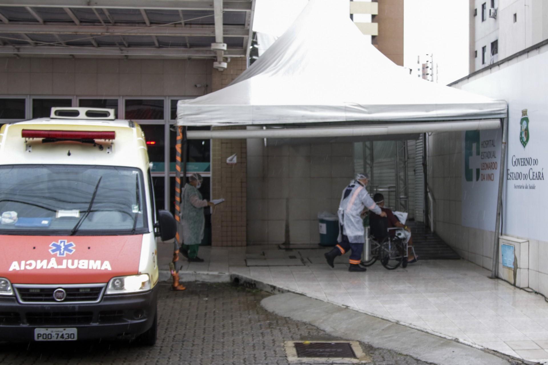 TAXA de internação por Covid-19 tem se mantida alta em Fortaleza