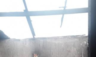 A casa de Cascavel que sofreu incêndio não corre risco de desabar
