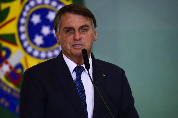 Presidente tem sido alvo de várias manifestações contrárias à condução da pandemia. (Foto: Marcelo Camargo/Agência Brasil)