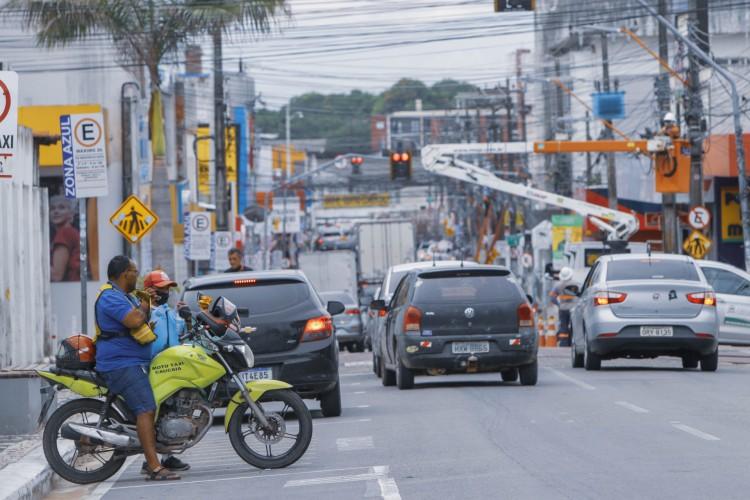 Ceará é o sétimo estado com maior número de mortes por covid-19 do Brasil. (Foto: FCO FONTENELE)