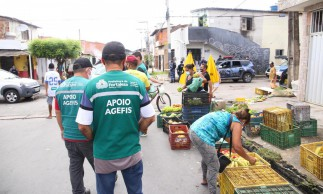 Agefis realiza trabalho preventivo e distribui material de proteção contra Covid-19