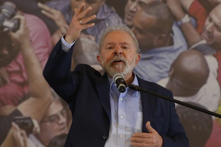 Ex-presidente Luiz Inacio Lula da Silva(Foto: AFP)