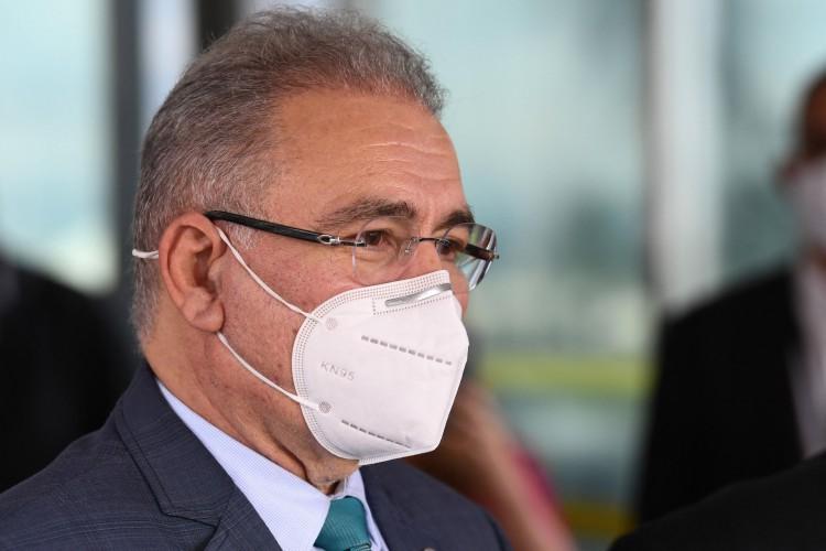 Marcelo Queiroga, ministro da Saúde (Foto: AFP)