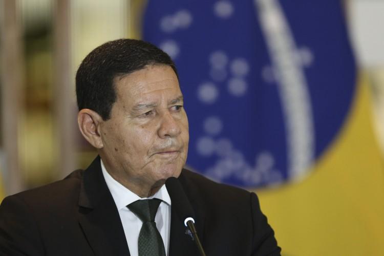 Vice-presidente da República, Hamilton Mourão (PRTB) (Foto: nome do fotografo/Agência Bras)