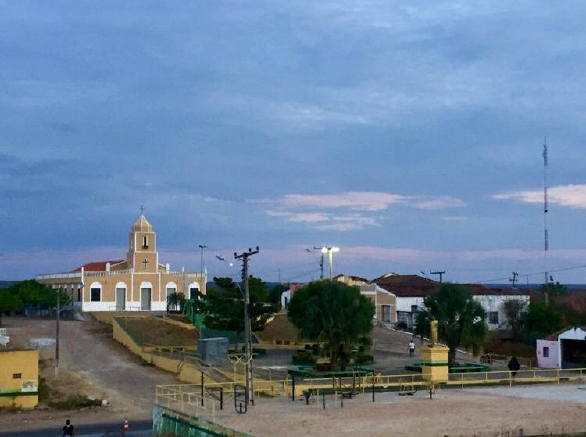 Igreja de São José, no distrito de Amanaiara, em Reriutaba