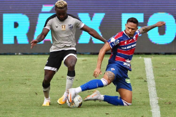 Ceará e Fortaleza disputam Clássico-Rei válido pela quarta rodada da Copa do Nordeste.  (Foto: Fábio Lima/O POVO)