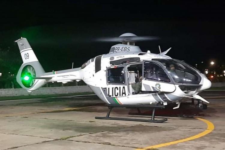 Ciopaer realiza transporte de décimo lote de vacinas contra a Covid-19 no Ceará. (Foto: Divulgação/SSPDS/CE)