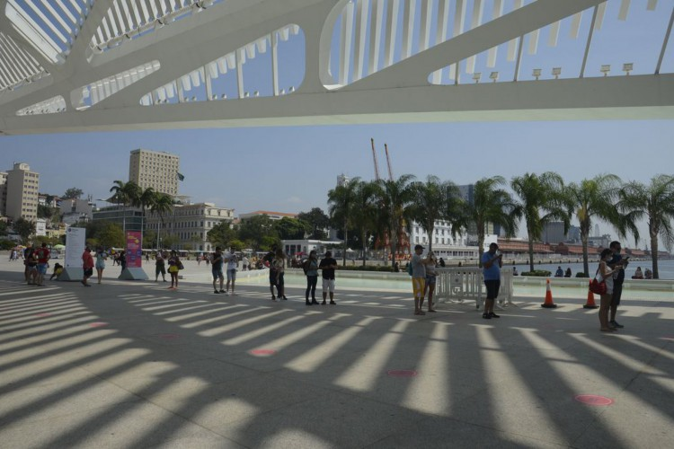 Museu do Amanhã reabre na Praça MauáMuseu do Amanhã reabre na Praça Mauá (Foto: Tânia Rêgo/Agência Brasil)