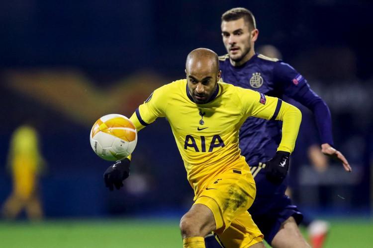 Lucas Moura disputou 150 partidas pelo Tottenham (Foto: Damir SENCAR / AFP)