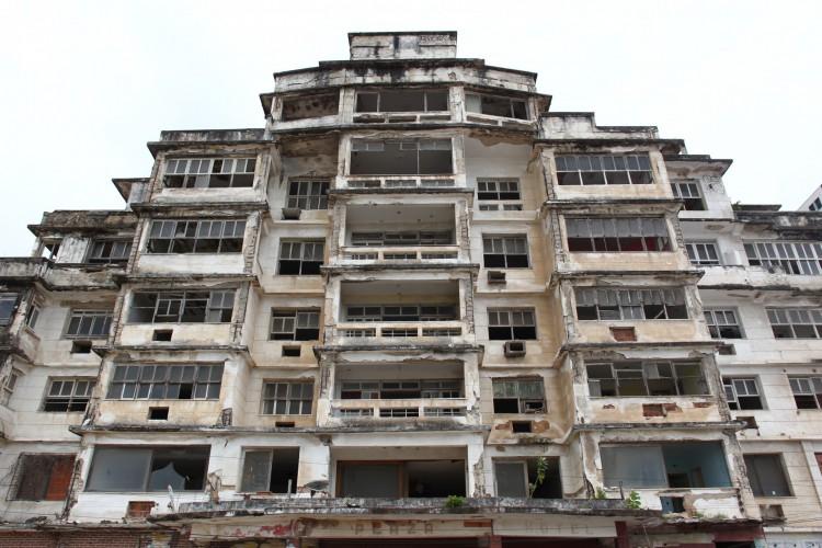 Edifício São Pedro não tem segurança (Foto: FABIO LIMA)
