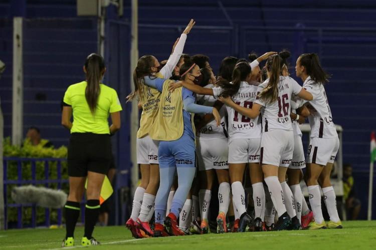A Ferroviária conquistou mais uma Libertadores e agora com uma mulher no comando da equipe (Foto: Divulgação / Conmebol Libertadores)