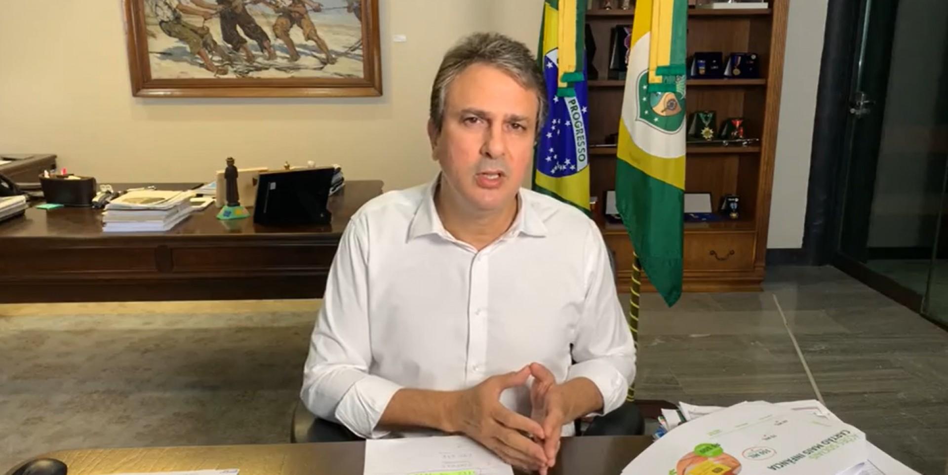 A polícia investiga ameaça de morte contra o governador que circula em grupos do WhatsApp.