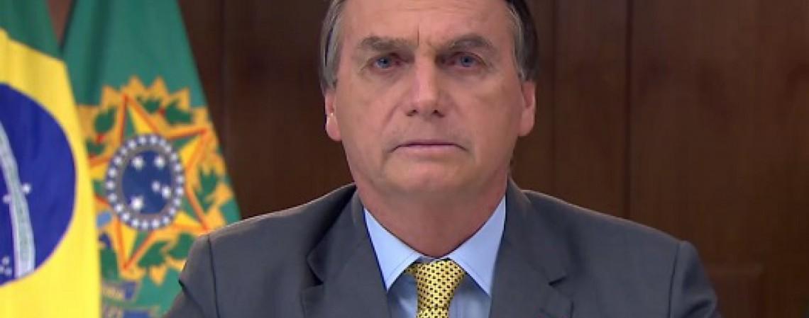 Jair Bolsonaro, presidente da República (Foto: REPRODUÇÃO)