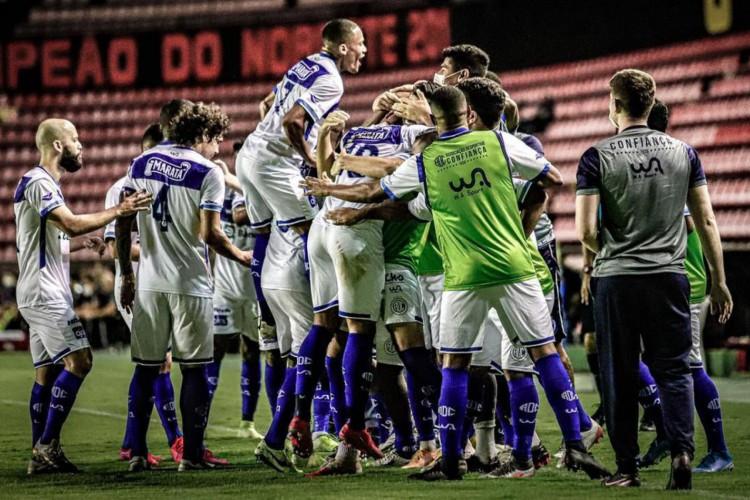 Copa do Nordeste: Confiança derrota Sport (Foto: )